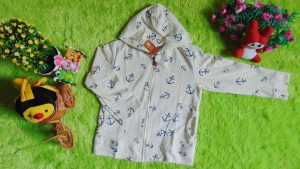 jaket anak bayi 1-3th branded gymboree motif old sailor