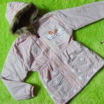 Jaket Anak 3-4th Anti Air Waterproof Hello Kitty Dusty