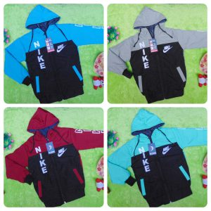 Jaket Anak PAUD TK 4-5thn Anti Air Waterproof Sport